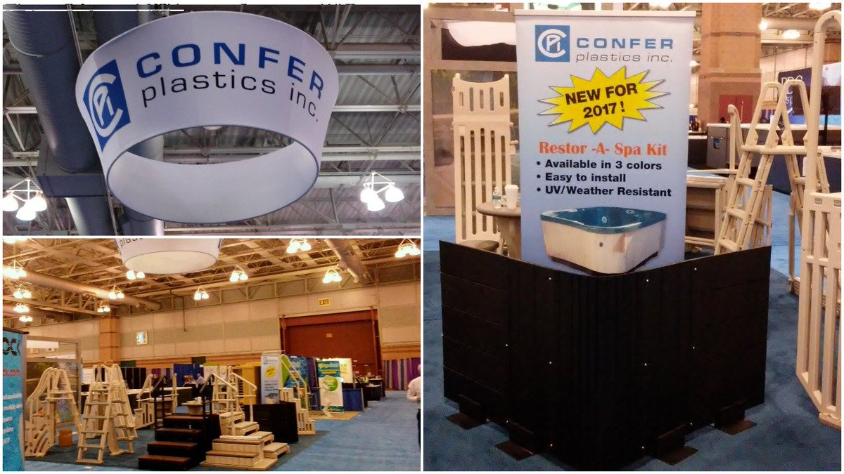 Photos video pictures ppt of the pool spa show for Pool and spa show usa