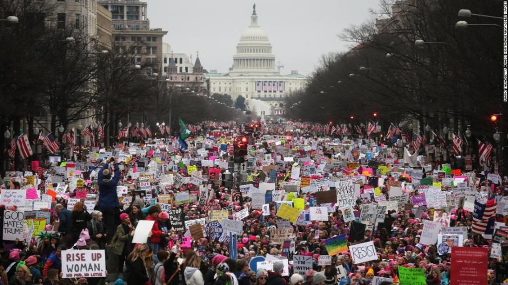 The Women's March spurs efforts to get more women to run for office ht...