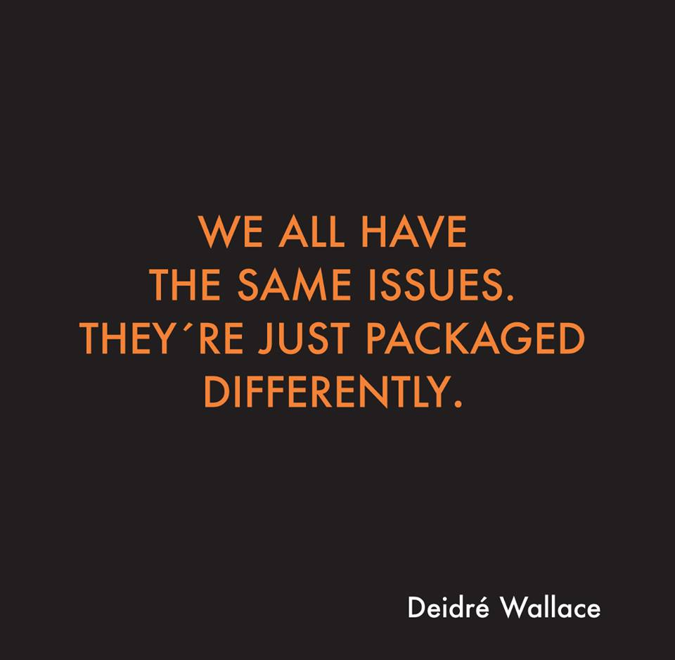#Blog 6: Our #problems are similar, they are just #packaged differentl...