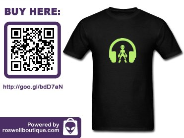 #Tshirt #Alien TUNE IN #aliens  http:// ow.ly/XasEx  &nbsp;   #Extraterrestrial #DJ #RoswellNM #UFOfestival #Hangar1 #Xfiles #USA #Alien #UFO<br>http://pic.twitter.com/wUtYaf7PH3