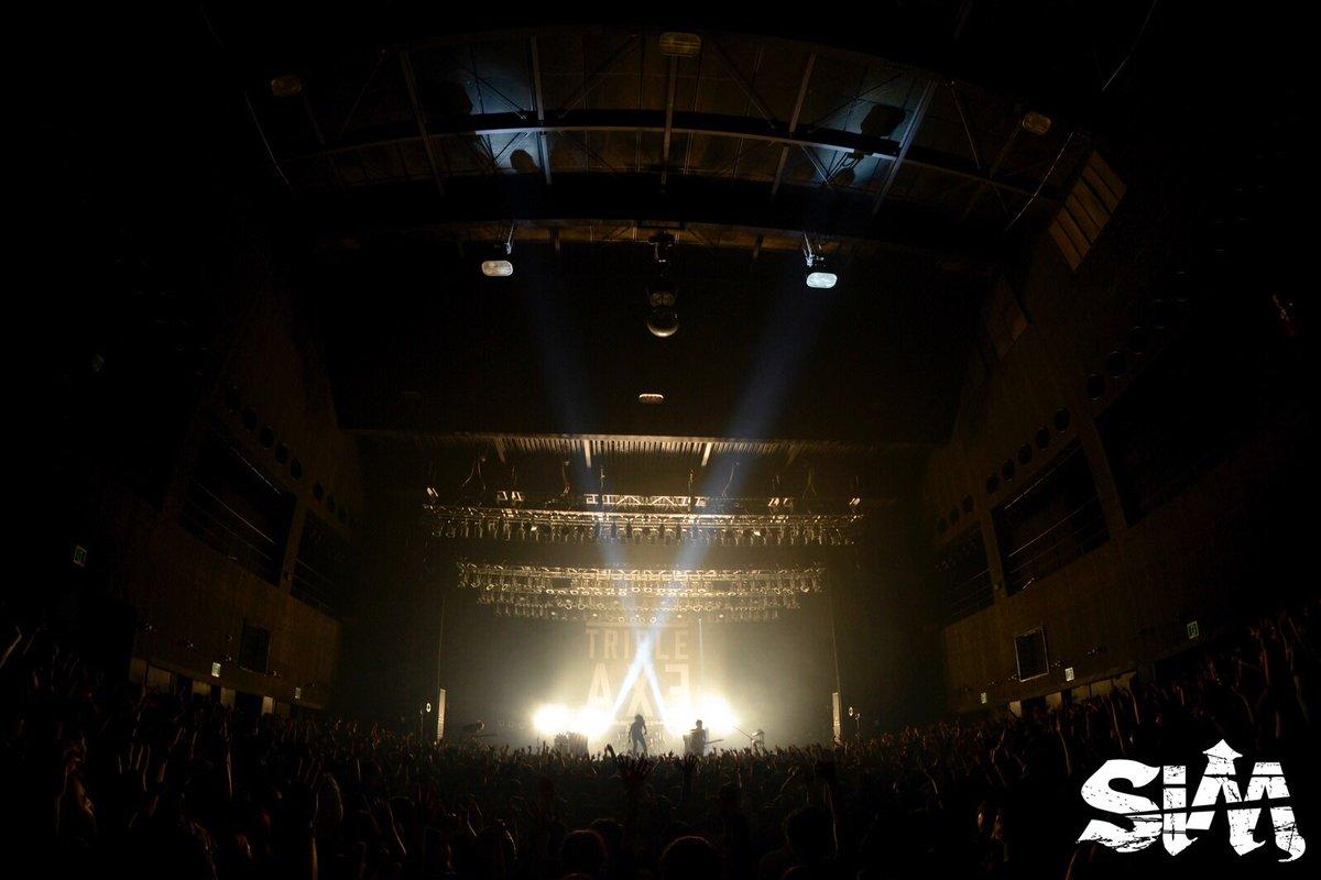 1/24(火) Zepp Nagoya TRIPLE AXE TOUR'17 ありがとうござ…