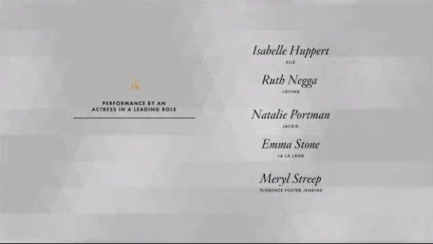 Isabelle Huppert nommée pour l'Oscar de la meilleure actrice 👏🇫🇷 https...