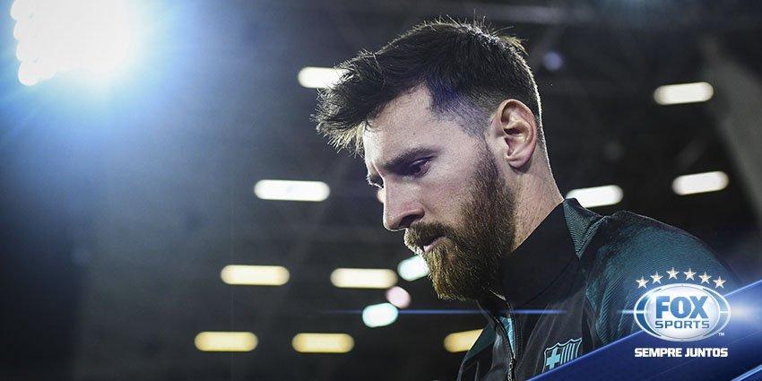 Barcelona já tem renovação com Messi pronta, diz jornal: https://t.co/...