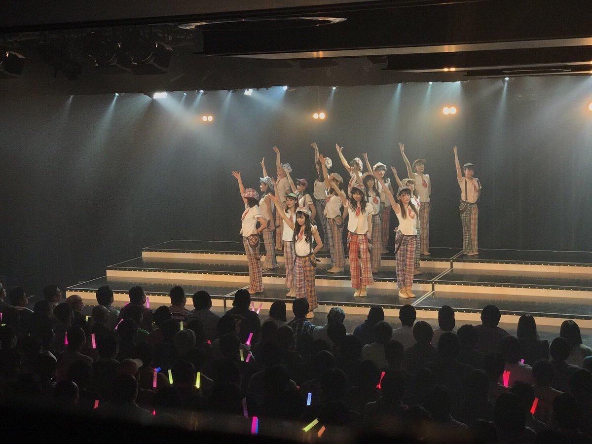 初日公演!終わったよ❤️  チームMは『#アイドルの夜明け公演 』をさせて頂きました!  もうね、、…