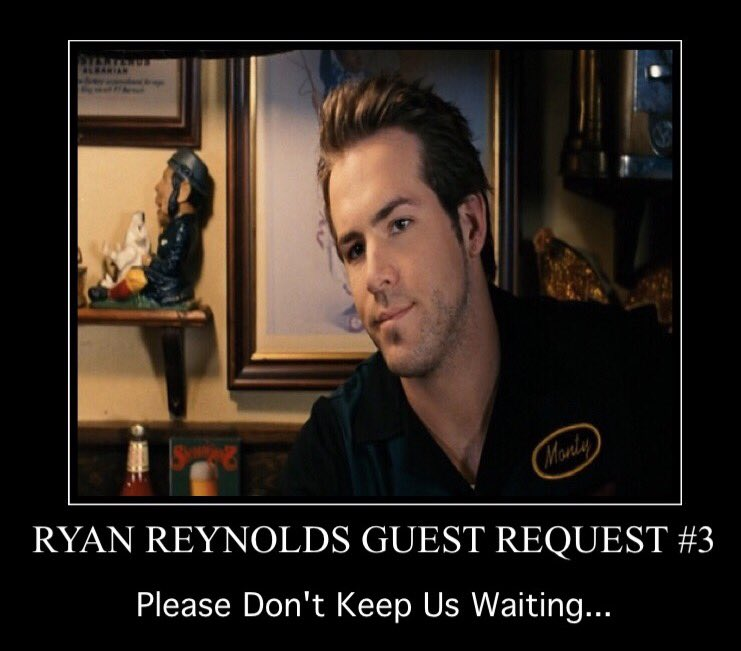 .@VancityReynolds If you join us for an interview we'll give you a gre...