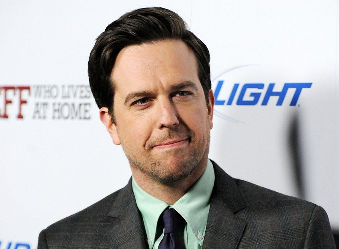 Happy Birthday to actor, producer, and screenwriter Ed Helms,  Mr. Helms via