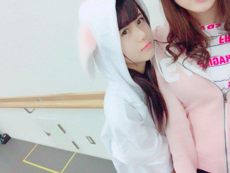 可愛いフードの伊藤理々杏