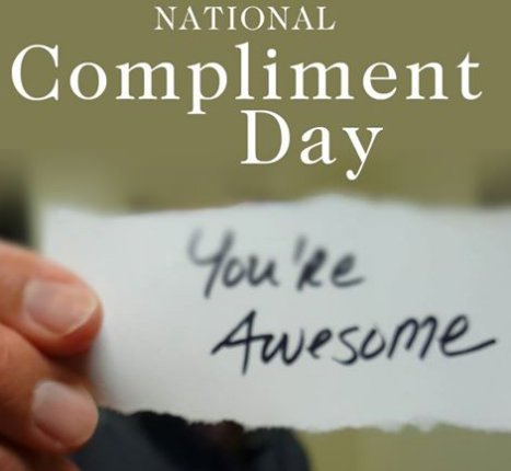 Start the day by making someone feel good. ❤️ #NationalComplimentDay h...