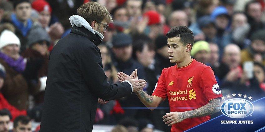 Com #Barcelona de olho, #Liverpool espera renovar com Philippe Coutinh...