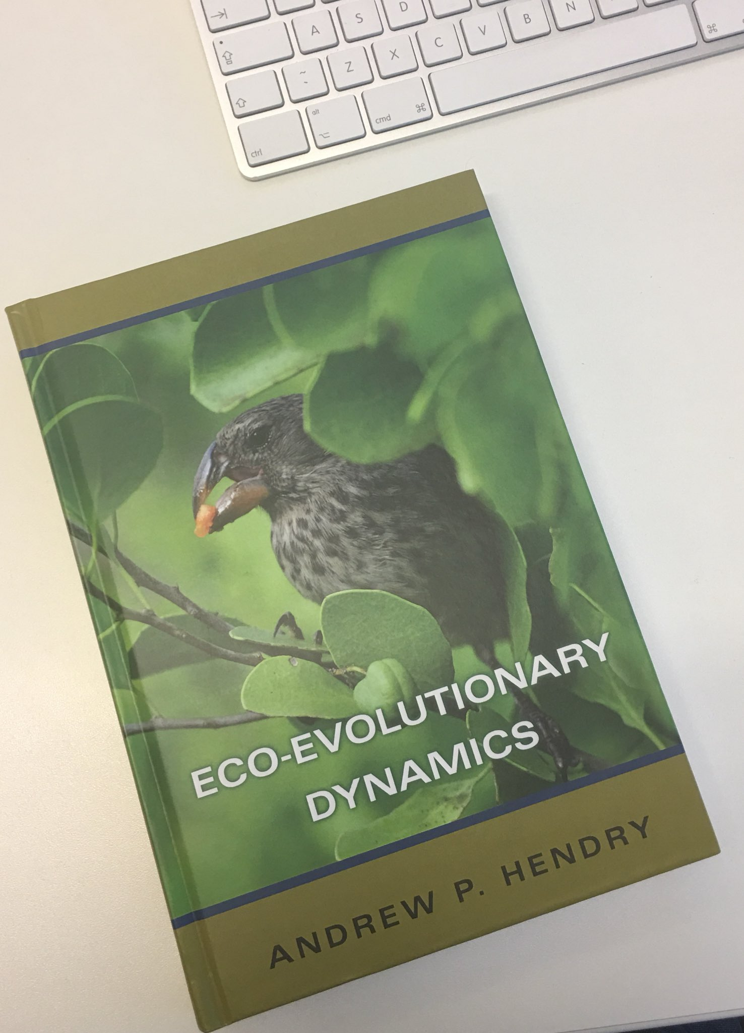 Finally got my hands on a copy on Eco-evolutionary Dynamics by @EcoEvoEvoEco https://t.co/Zgbdx0A1tM