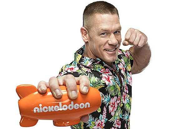 John Cena in diretta streaming ai Kids' Choice Awards 2017 di Nickelodeon