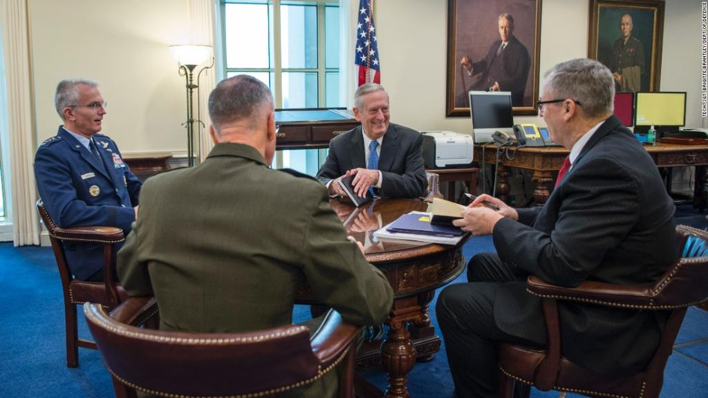 Mattis goes where Trump won't: Calling the US-NATO bond 'unshakeable'...