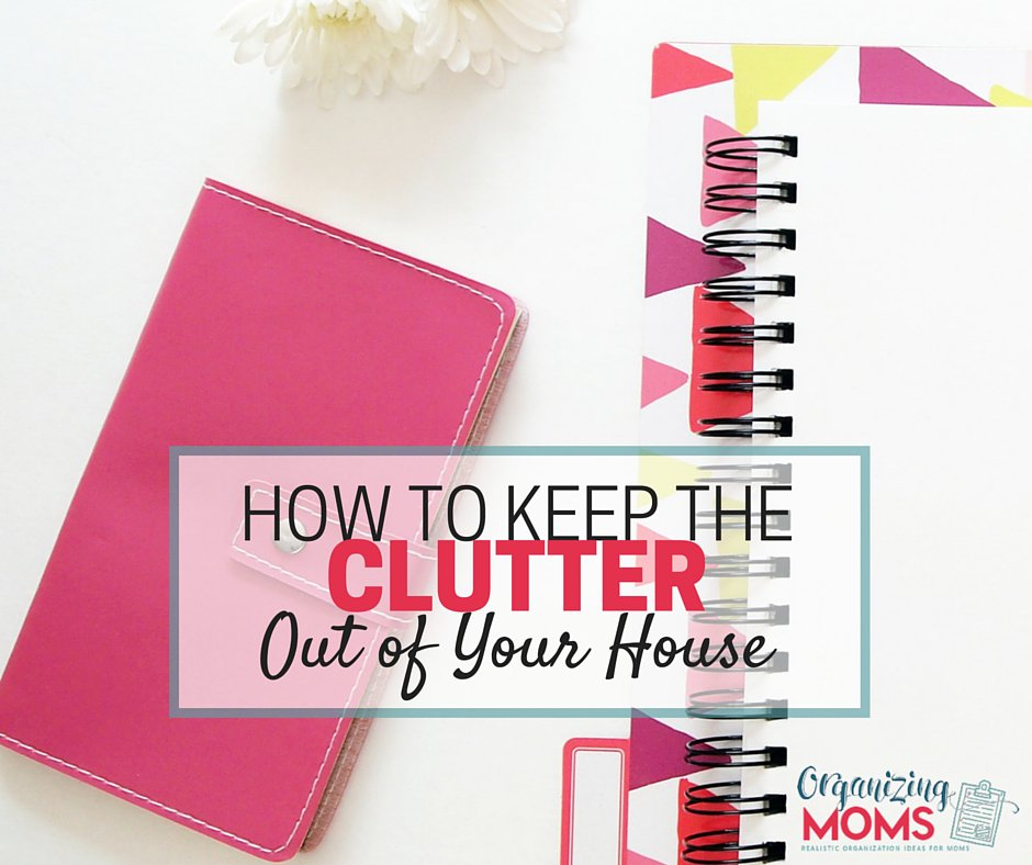 How to keep the clutter out of your home. Stop the inflow of stuff. ht...