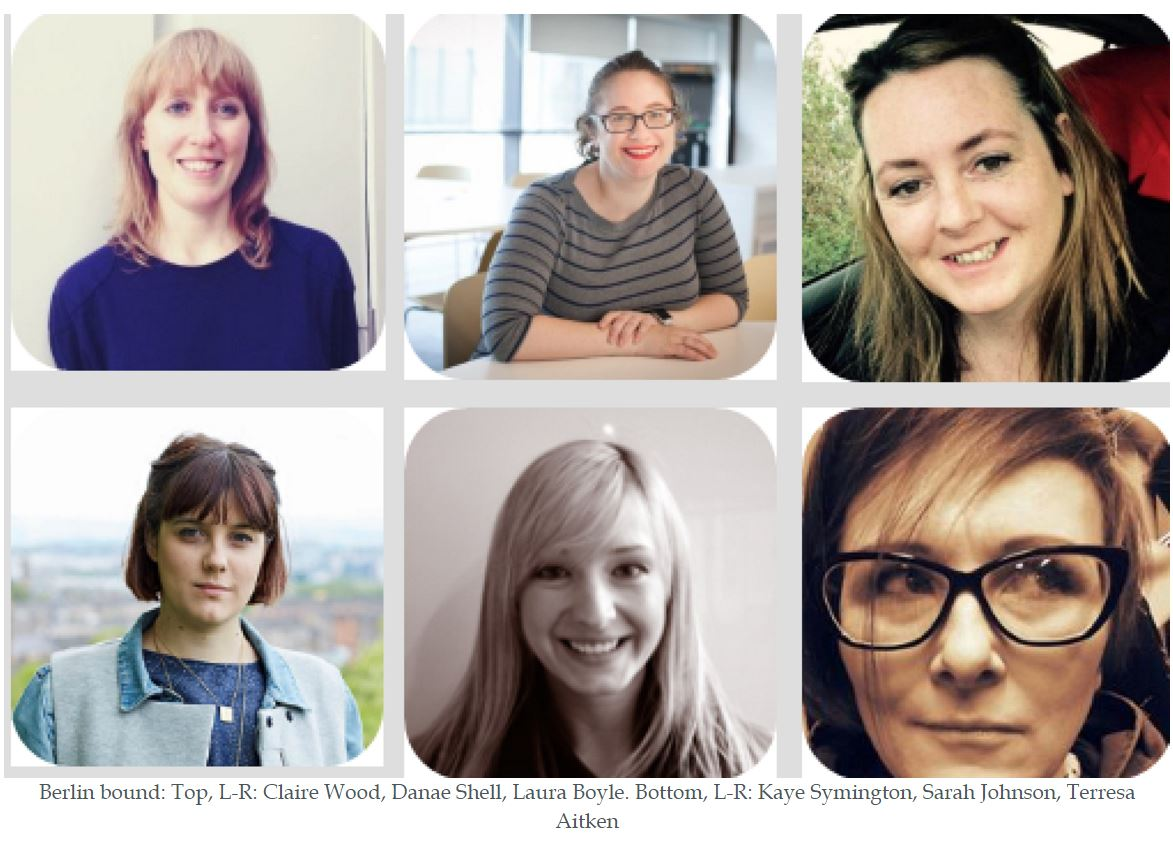 Scottish female digital high-flyers to visit creative hubs in London & Berlin this month to tackle gender imbalance. https://t.co/Ya07JnCtm3 https://t.co/DNguwxXbcJ