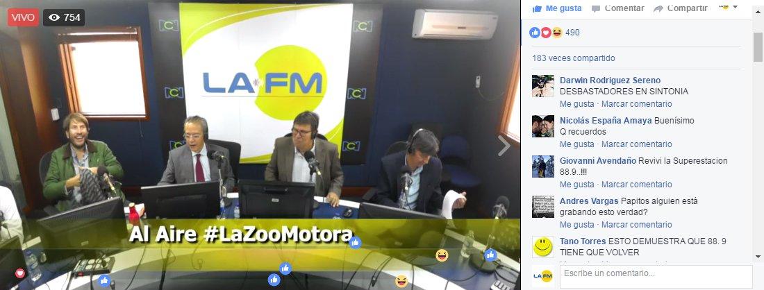 VIDEO - Siga la transmisión de la #LaZooMotora en el enlace https://t....