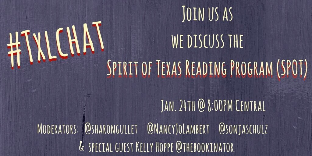 Excited about the chat tonight. Hope you can join us #txlchat https://t.co/cRJWdW3lMN