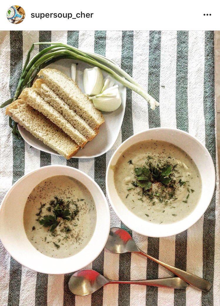 Рецепт грибного крем супа из шампиньонов