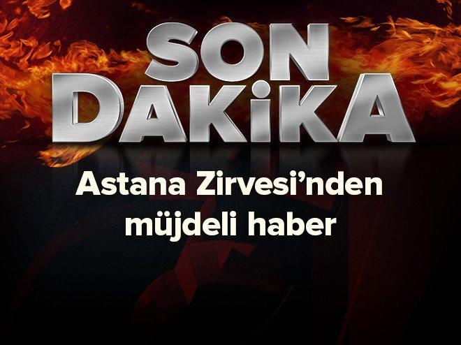 Astana Zirvesi'nden müjdeli haber https://t.co/gaU2iCqLzb https://t.co...