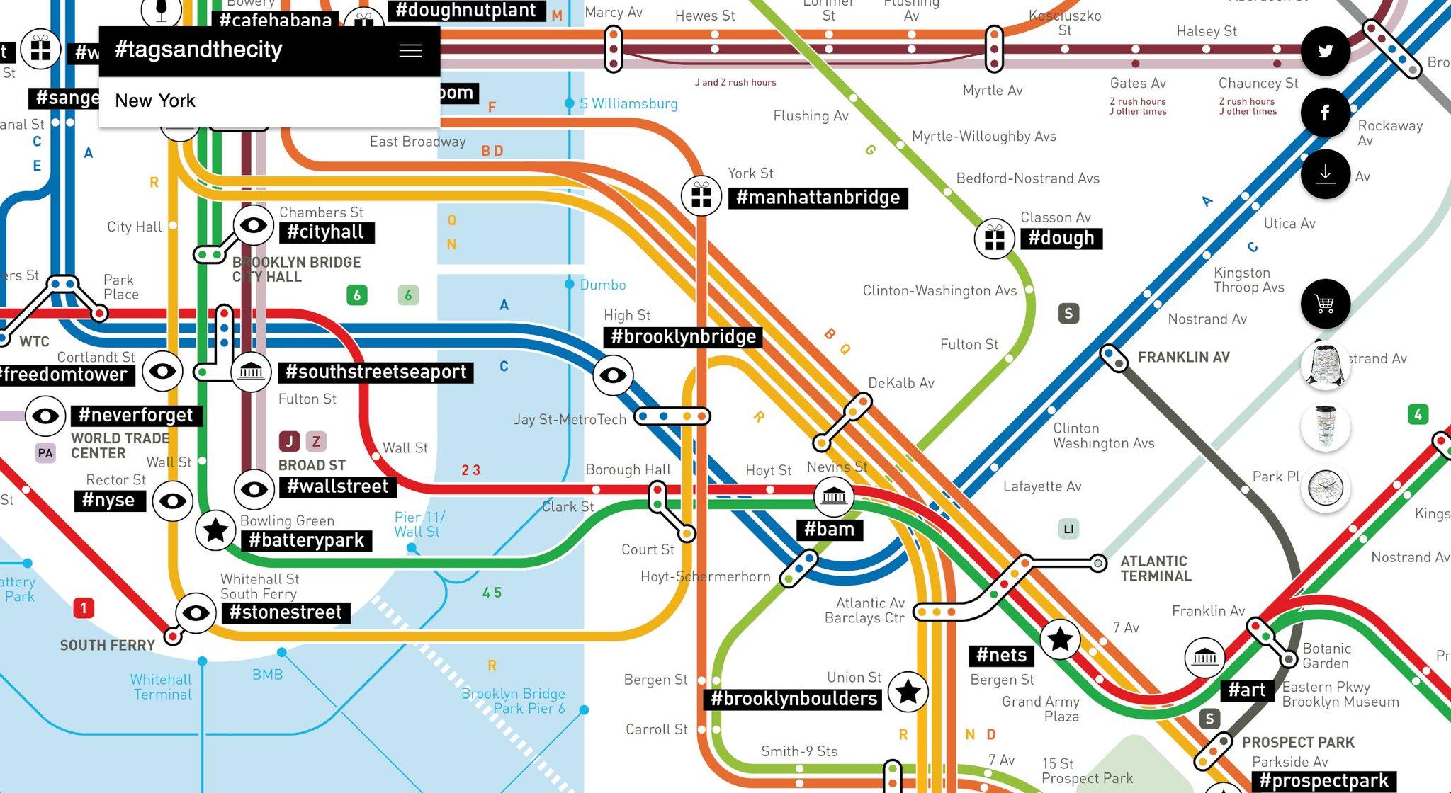 Nyc Subway Map Bam Park.Digital Dumbo On Twitter Three Dudes Overlaid Popular Instagram