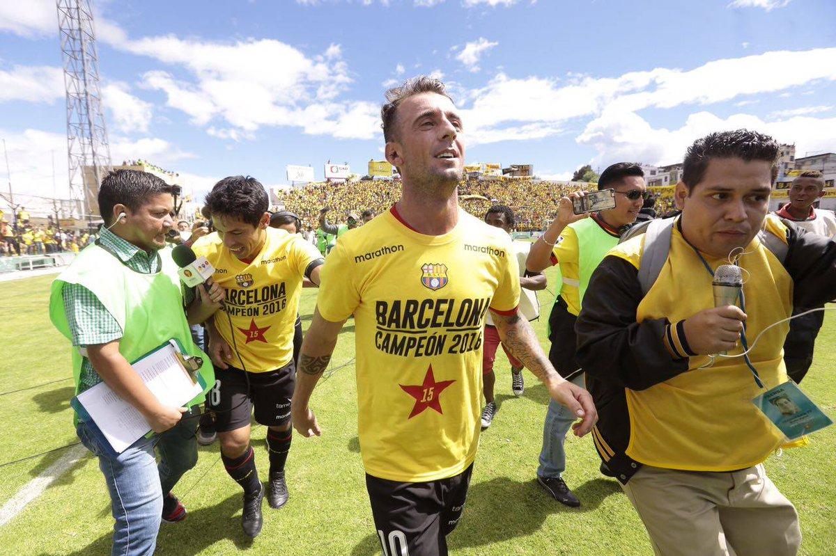 #IMAGEN Damián Díaz ya es ecuatoriano, pero no puede jugar en la selec...