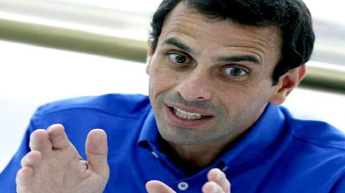 ¡OJO PELAO! Capriles anuncia el nuevo modus operandi de las guarimbas...