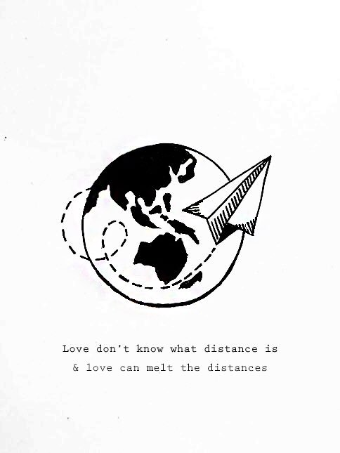 long distance relationship card ideas