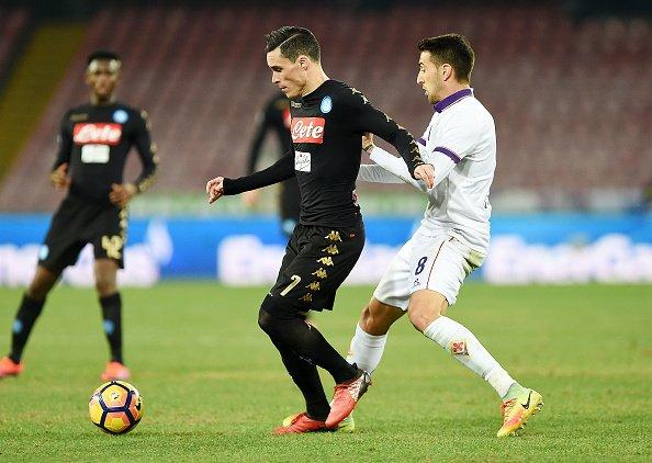 NAPOLI FIORENTINA Coppa Italia 1-0: Callejon aspetta la vincente di Juventus-Milan