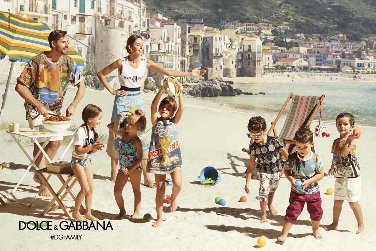 Dolce&Gabbana SS17 Children Advertising Campaign.  #DGCampaign #DGSS17 #DGBambino