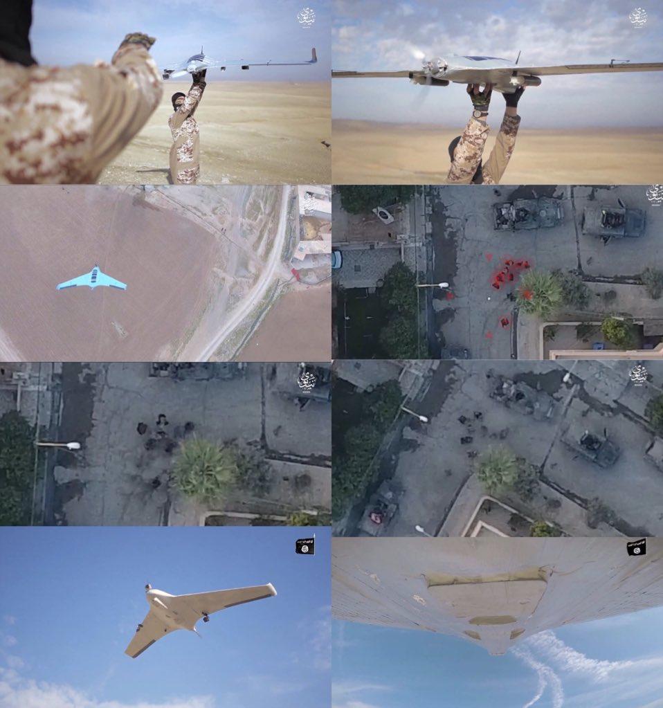 Боевые дроны Халифата