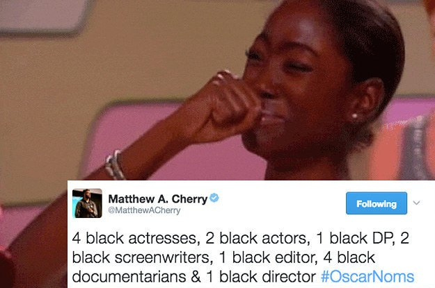 The Oscars are much less white, but there's still a ways to go