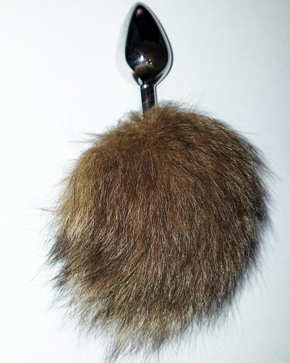 Foxtail buttplug