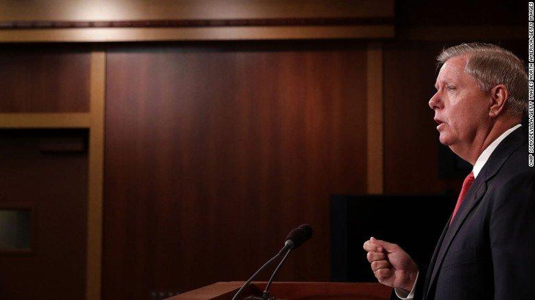South Carolina Sen. Lindsey Graham blasts President Trump after latest voter fraud claim