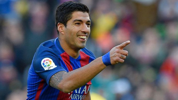 Happy birthday, Luis Suarez.  Barcelona have made him better, and he\s made Barca better.