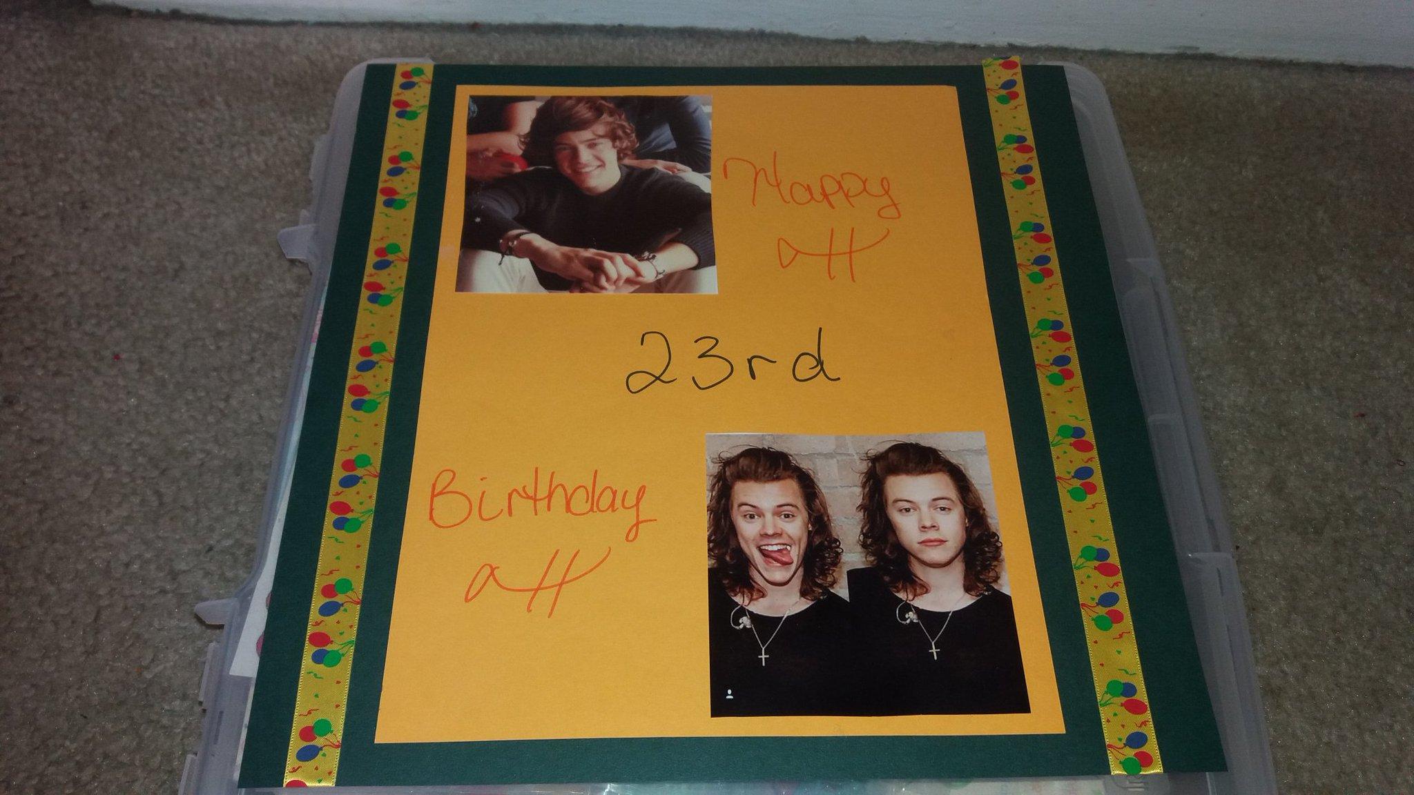 Happy early birthday  something I made hope you like it