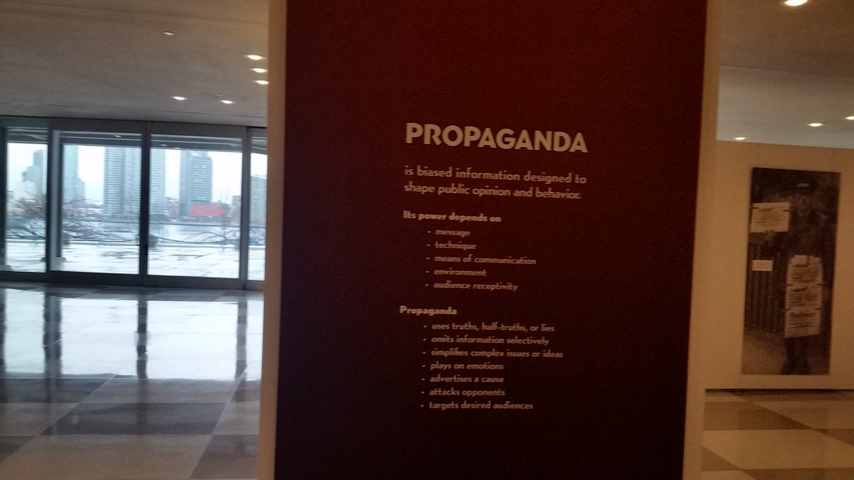 Definition Of Propaganda Inside The UN, From Which UN DPI Evicted Press For  Covering Corruption ...