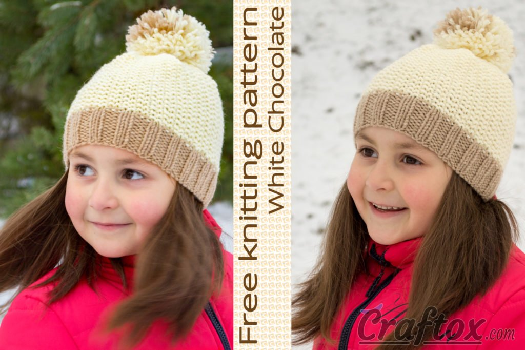 9325f22b551 Beanie with pom-pom on top -