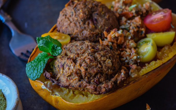 Easy Potato Lentil 'Meatballs' [Vegan]