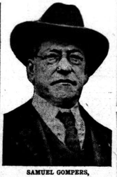 Want to know more about Samuel Gompers, English-American labor leader, born #OTD 1850?  We have just the thing: https://t.co/PuYm7WALvT https://t.co/uvj9YYPuCW