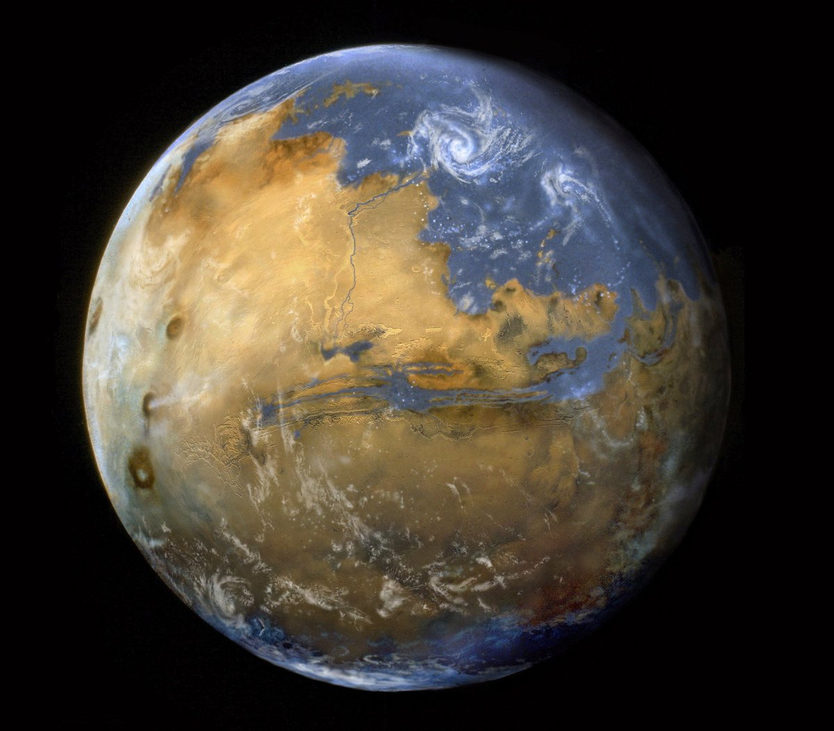 """NASA's MAVEN Mission on Twitter: """"New research suggests ..."""