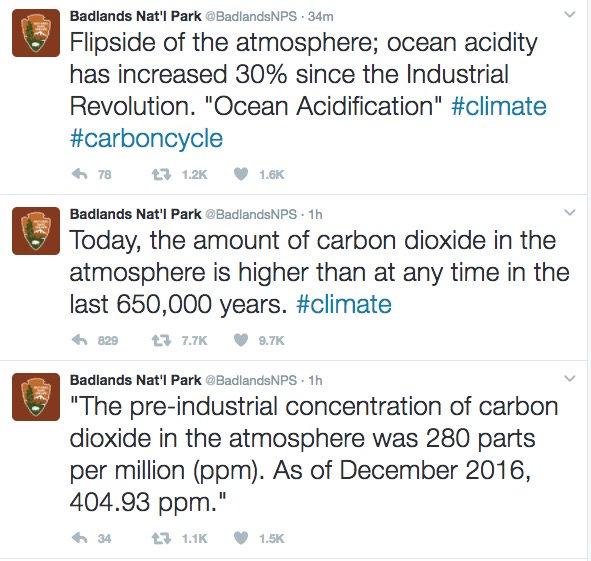 For later, after those Badlands National Park tweets get deleted, here's what happened. ht @migold https://t.co/b5vnKjwDnn