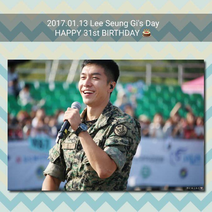 The one and only Happy 31st Birthday  to Lee Seung Gi
