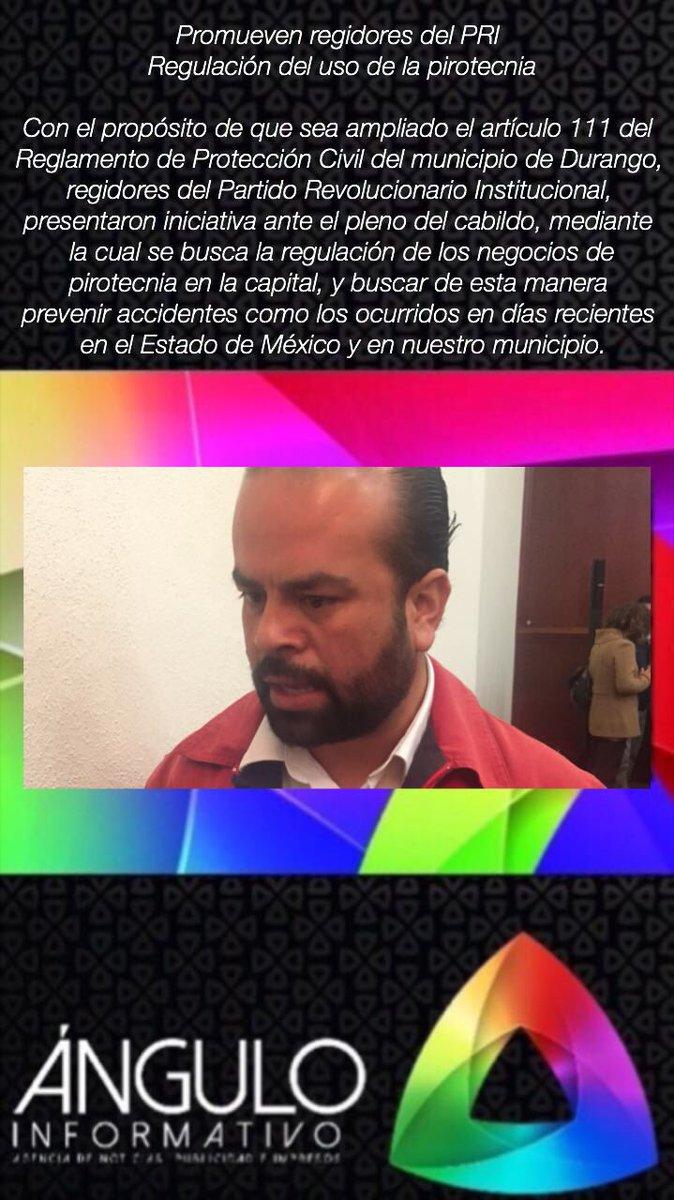 #ÁnguloDuranguense | Promueven @RegidoresDgoPRI regulación del uso de #Pirotecnia en la capital de #Durango.<br>http://pic.twitter.com/UQxEatLjam