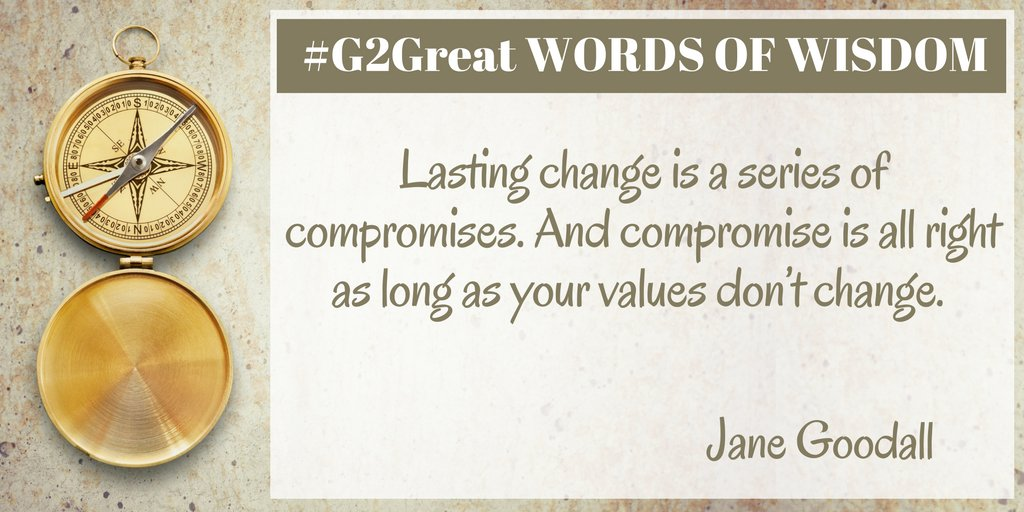 Words of Wisdom #G2Great https://t.co/Xoz6m7cauE