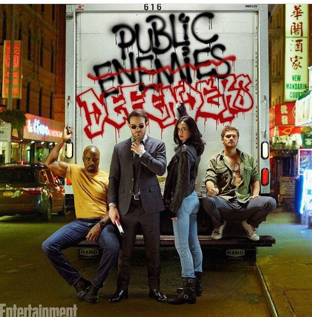 Here comes trouble! #Defenders baby!