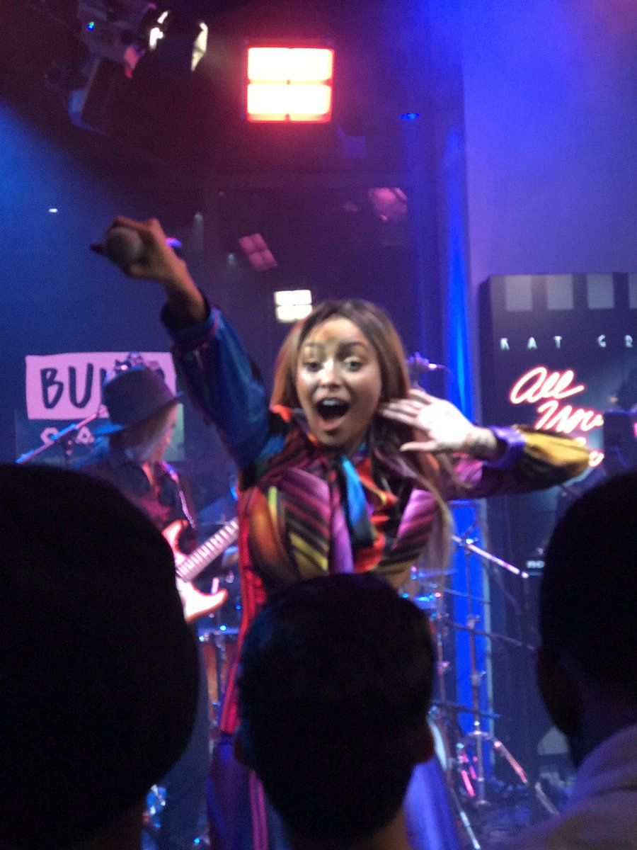 Let's raise the roof for FUNK! @KatGraham #AllYourLove #BUILDseries ht...