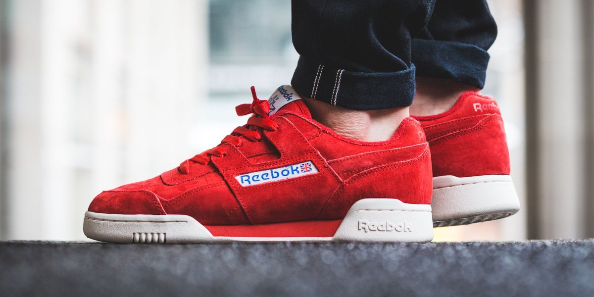 9fed267cdda7a4 Reebok Workout Plus Vintage - Primal Red Chalk Classic White SHOP HERE ▷  https   t.co DisvDCebWN  reebok  workout… https   t.co MdI8LOlnhF