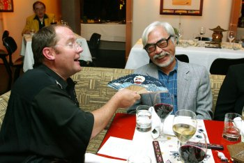 Happy birthday, John Lasseter! Hope Miyazaki treats you to some birthday-sushi!
