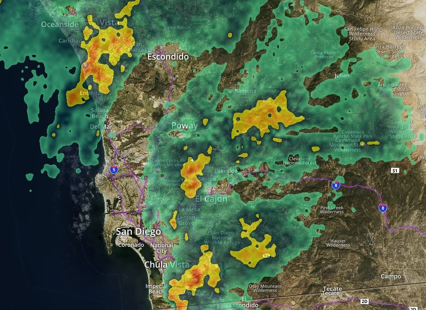 Heavy rain means tough evening commute https://t.co/BysO5iSbwR #sandiego https://t.co/TyB4fGKIkf