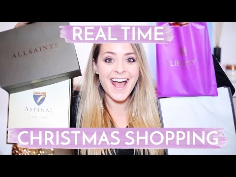 Real-Time CHRISTMAS SHOPPING Haul! Fleur De Force #Fleur DeForce #LoveYa #Beauty #MakeUp