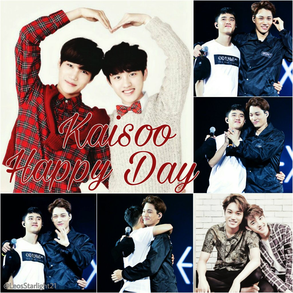 They are literally the cutest OTP     #HAPPYKAISOODAY #HappyKAIDay #HappyDyoDay #happyjonginday #happykyungsooday #kaisooday #kaisoo<br>http://pic.twitter.com/ULX8C7hCBQ
